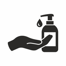 Liquid Soap Icon. Vector Icon ...