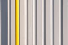 White And Yellow Metal Wall Te...