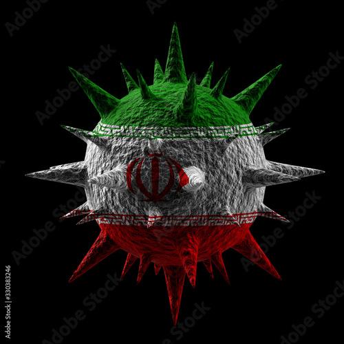 3D Virus #330383246
