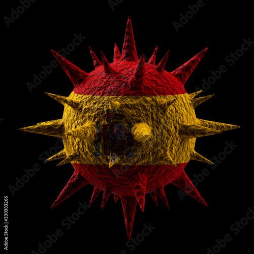 3D Virus #330383266