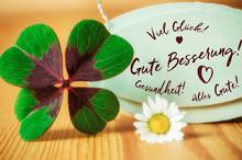 Gute Besserung Glücksklee Und...