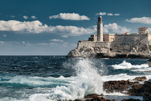 Lighthouse Of El Morro Castle...