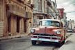 Classic old car in Havana
