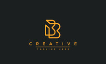 Modern Abstract Letter B Logo ...