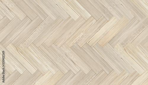 Fototapeta Natural wood texture. Luxury Chevron Parquet Flooring. Harwood surface. Wooden laminate background obraz na płótnie
