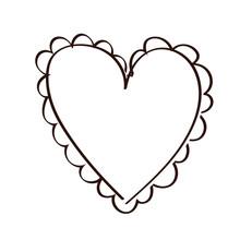 Happy Valentines Day Hearts Li...