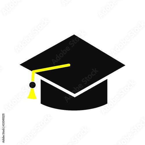 Photo bachelor hat logo