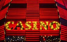 Neon Casino Sign, Las Vegas, Nevada