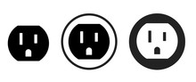 Outlet Icon . Web Icon Set .vector Illustration