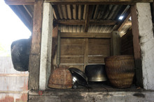 Old Wooden Pantry Storage In C...