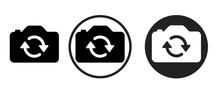 Reverse Camera Icon . Web Icon...