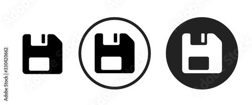 Cuadros en Lienzo save icon . web icon set .vector illustration