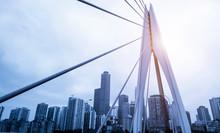 Landscape Structure Of Urban Bridge..