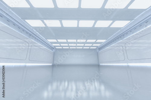 Fototapeta Empty room interior obraz