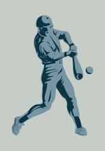 Symbol Baseball Player