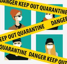 Quarantine Virus Epidemic Home...