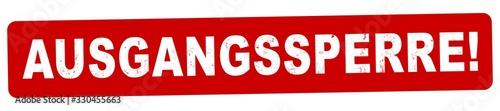 nlsb1368 NewLongStampBanner nlsb - german label / banner - Schild mit der Stempe Tapéta, Fotótapéta