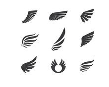 Wing Logo Symbol Icon Vector I...