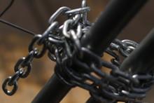 Iron Chain Closing A Construct...