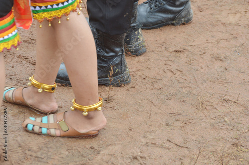 Photo anklet