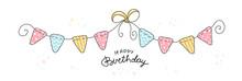 Happy Birthday Party, Flat Ill...