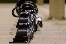 Snare Drums At Rest During A B...