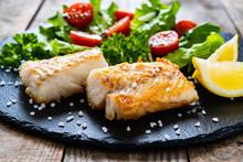 Fish Dish - Fried Cod Fillet W...
