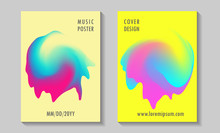 Summer Disco Party Posters, Co...