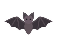 Cartoon Bat Icon