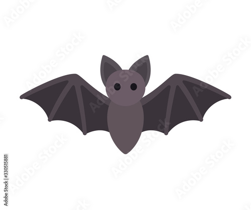Cartoon bat icon Fototapet