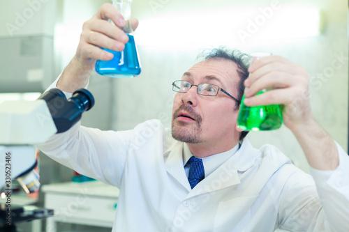 Fényképezés Chemist crazy