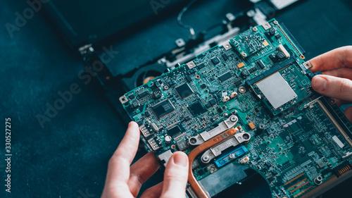 Vászonkép Microelectronics engineering