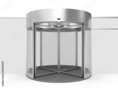 The design of revolving doors