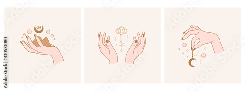 Photo Elegant female hands