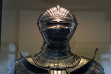 Medieval Armor Iron Helmet Det...