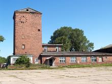 Flight Control Point At The Old German Airfield Noitif. Baltiysk, Kaliningrad Region