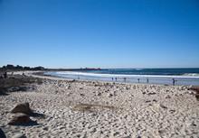 Ocean Near Pebble Beach, Pebble Beach, Monterey Peninsula, Calif.