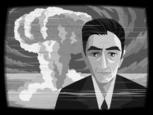 Oppenheimer Scientist And Nuclear Bomb Explosion