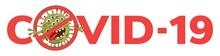 Stop COVID-19. Vector Illustra...