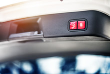 Car Suitcase Red Button In The...