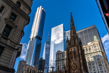 The Top Of Trinity Church In F...