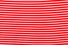 Striped Red And White Color Ba...