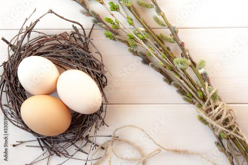 Fototapeta Wielkanoc, jajka wielkanosne  obraz