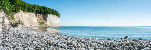 Valokuva Chalk cliffs on Rügen island along the Baltic sea