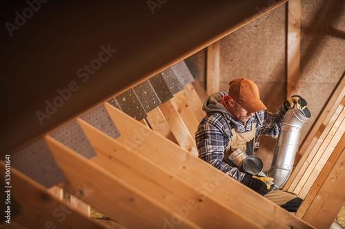 Obraz Building Ventilation System - fototapety do salonu