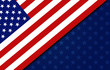 USA backgound. USA flag elements reinterpretation.