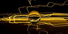 Crystal Sphere Light Painting....