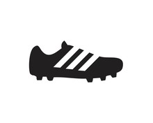 Football Boots Icon Template Black Color Editable. Football Boots Icon Symbol Flat Vector Illustration For Graphic And Web Design.