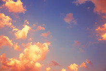 Fantastic Clouds And Beautiful...