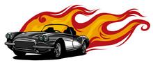 Vintage Car, Hot Rod Garage, H...